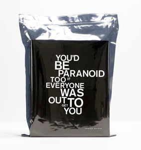 You'd Be Paranoid Too (If Everyone Was Out to Get You) - Limited Edition - by Awsten Knight (includes OXXXA Analog Spirit Board)