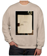 Load image into Gallery viewer, Manuscript Photo Crewneck Sweatshirt