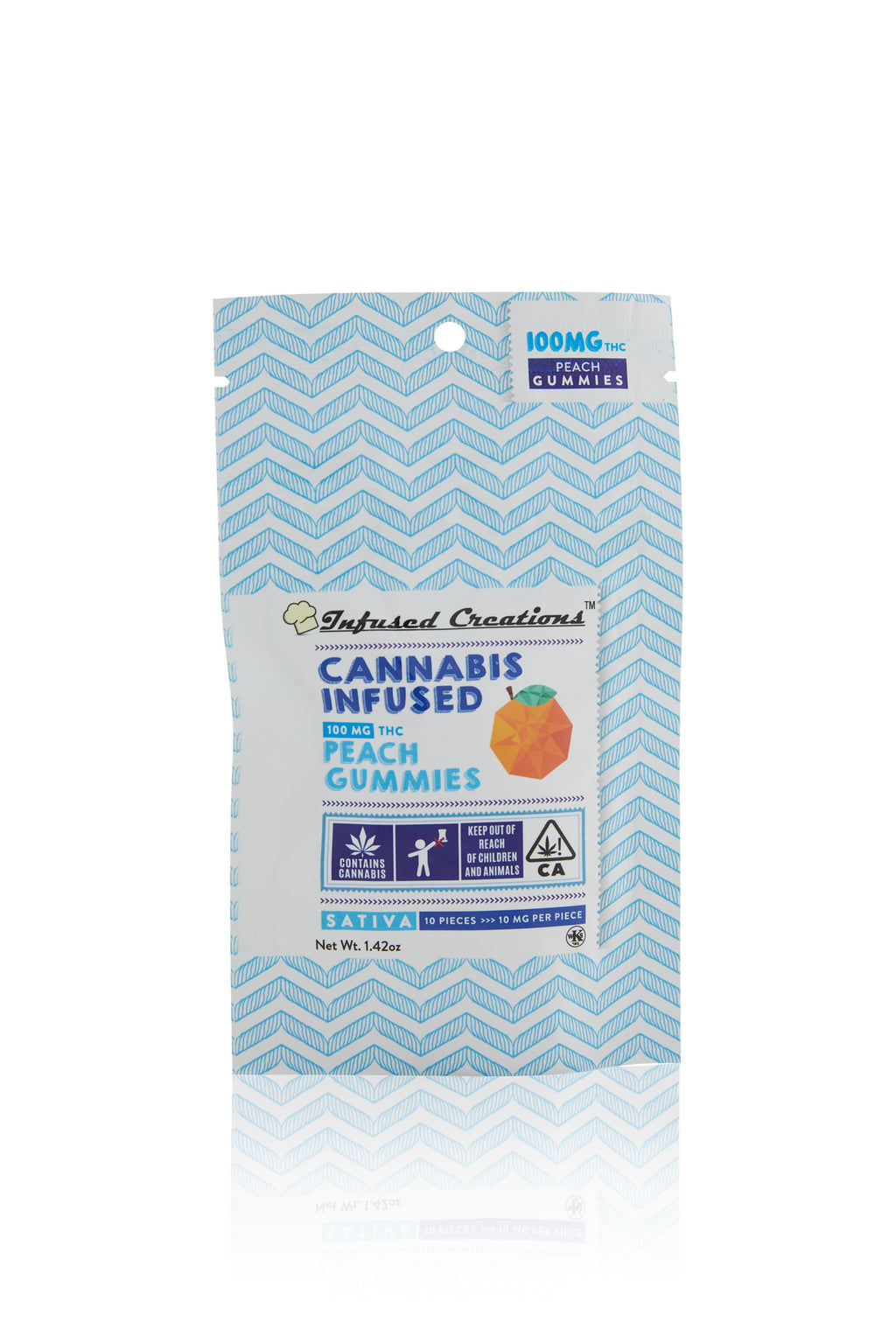Peach Sativa Gummies