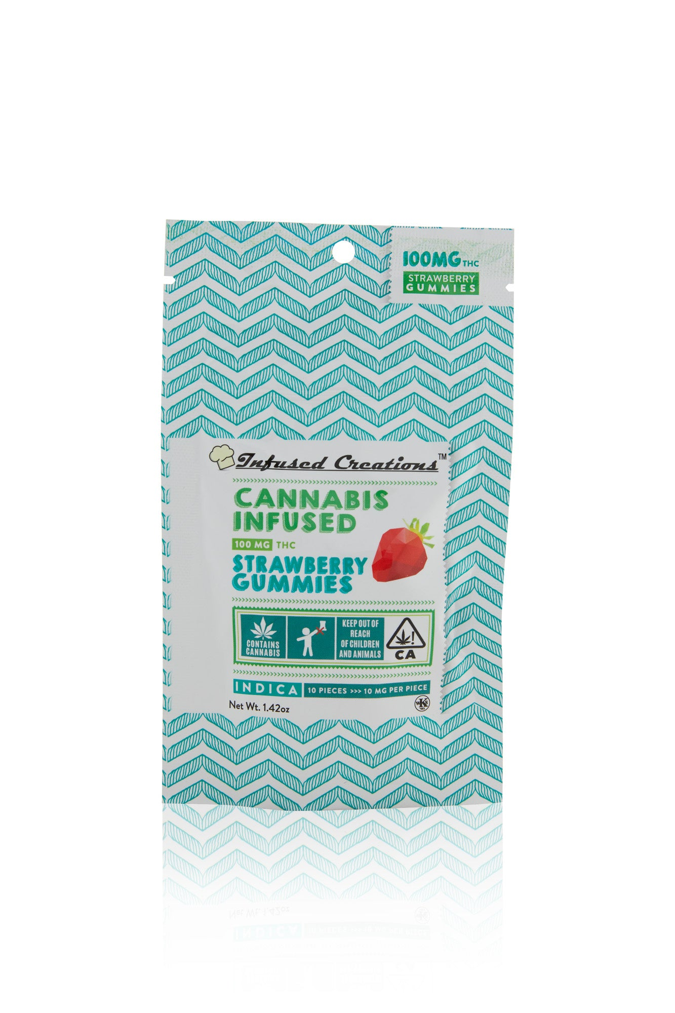 Strawberry Indica Gummies