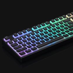 BACKLIT MILKY BLACK KEYCAP SET