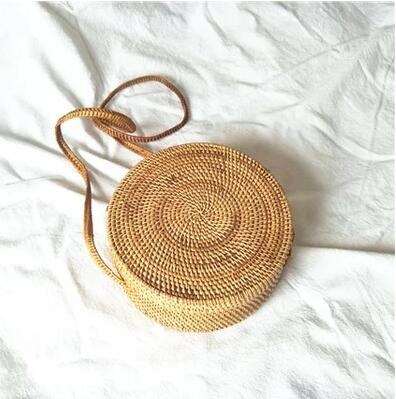 Straw Shoulder Bag Beach HandBags