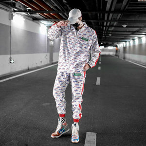 New Spring Autumn Tracksuits Men Fashion Harajuku Sportswear