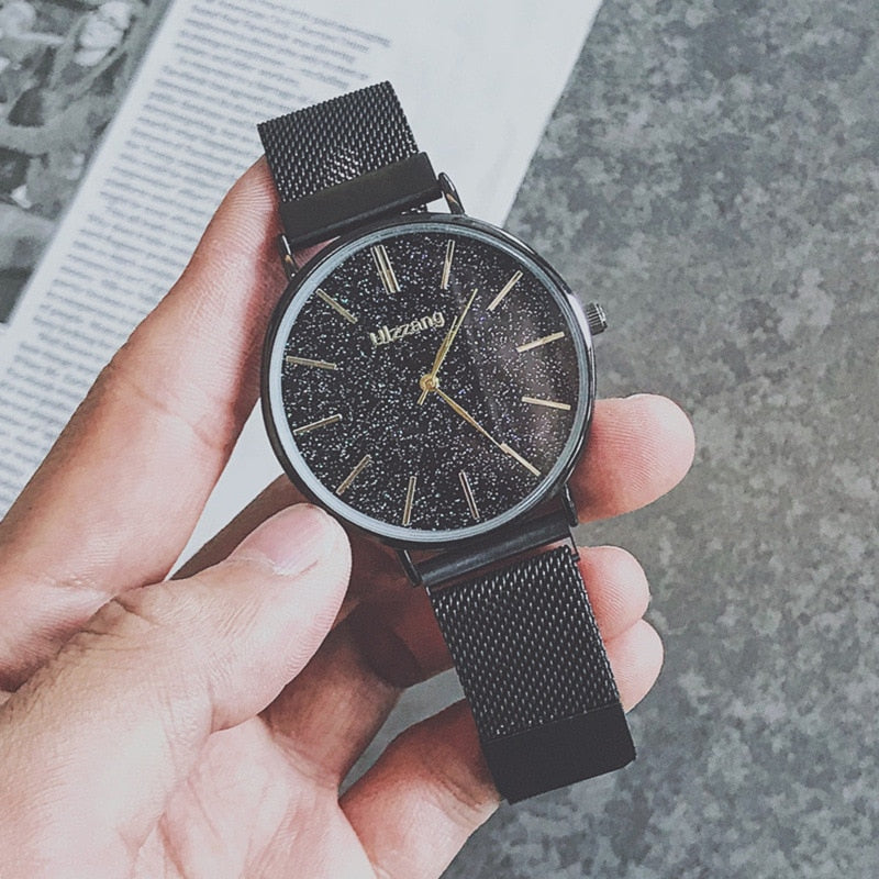 Minimalist Style Men Watch 2019 New Fashion Starry Sky Watch For Men's