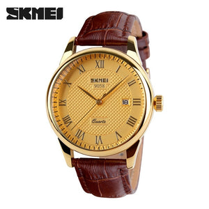 SKMEI Fashion Men 30M Waterproof Dress Watch