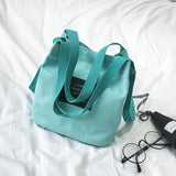 Women Canvas Messenger bag Mini Single Shoulder Bag