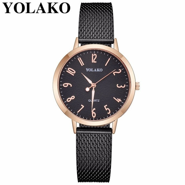 YOLAKO Women Watch Luxury Fahsion Ladies Watch