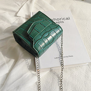 PU Alligator Cute Women Mini Crossbody Bags