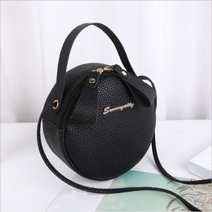 New Fashion Women  Mini Round Handbag