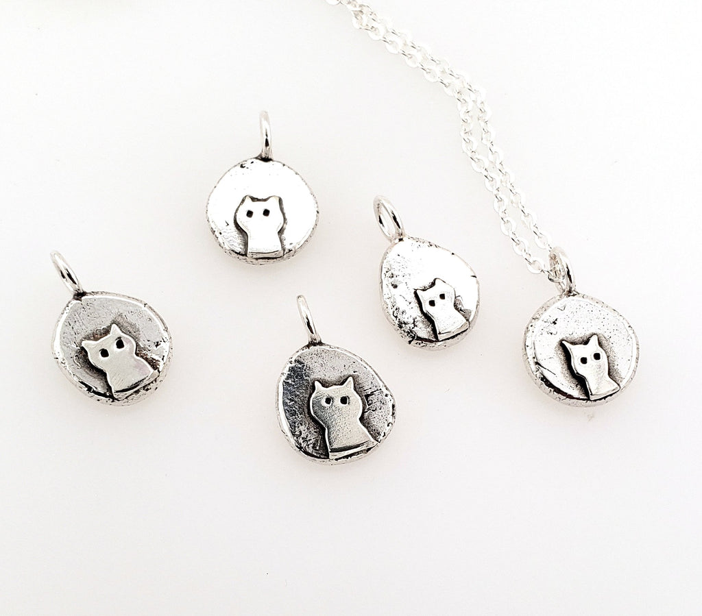 cat nugget pendants for cat lovers and cat ladies
