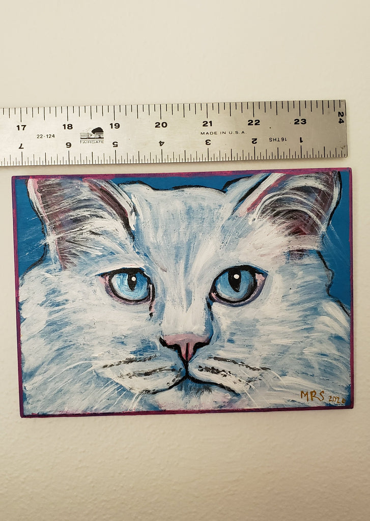 cat painting for cat lovers