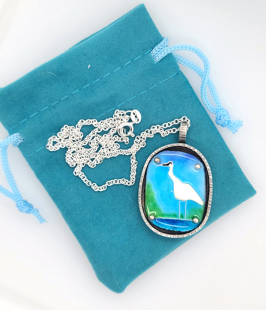 handmade enamel jewelry by Kathryn Riechert