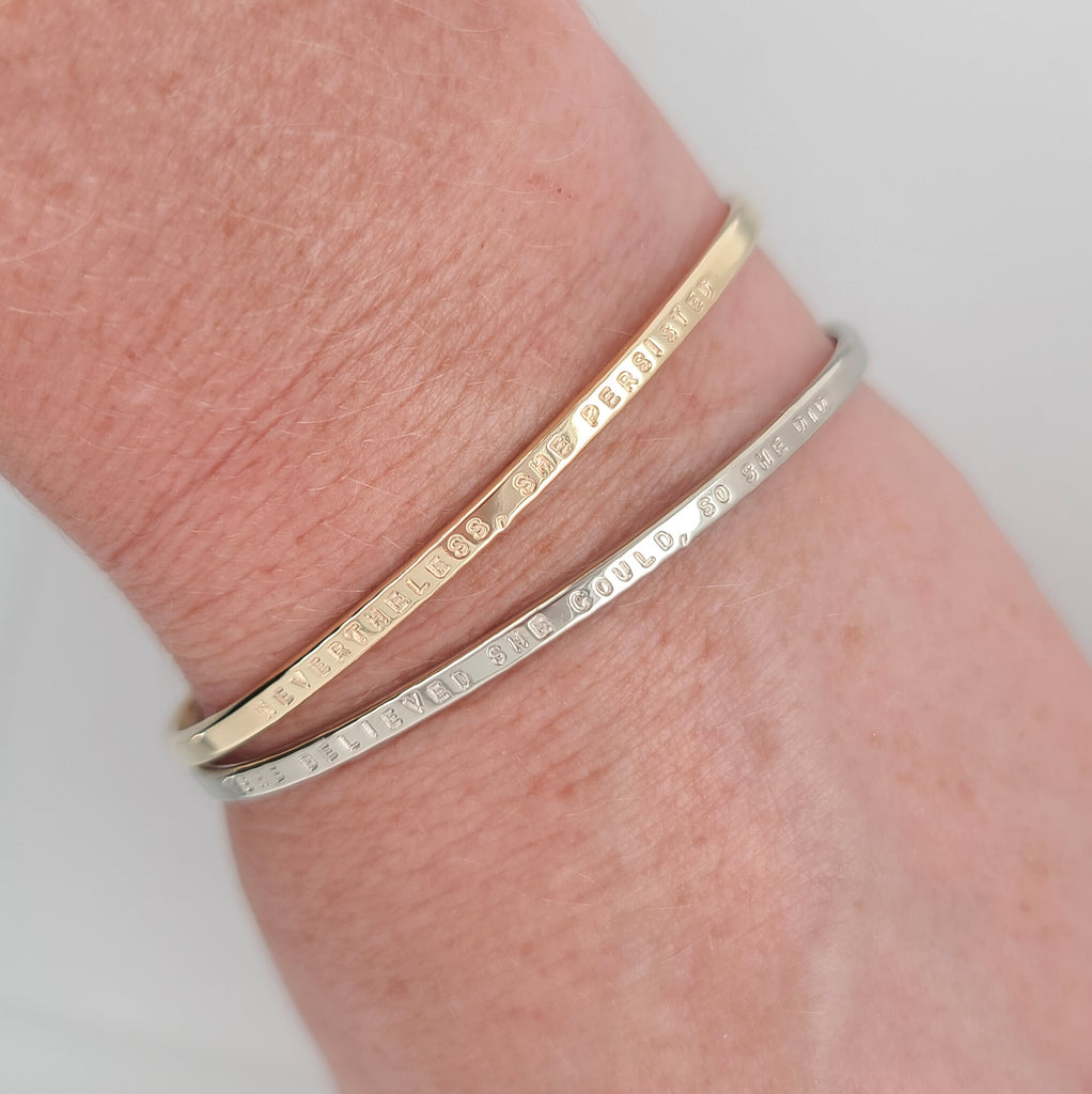 10k yellow and white gold bracelets