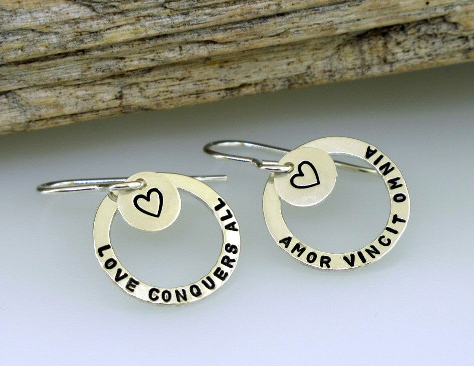 Love Conquers All Earrings
