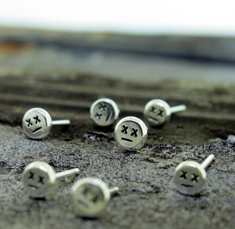 Zombie Stud Earrings