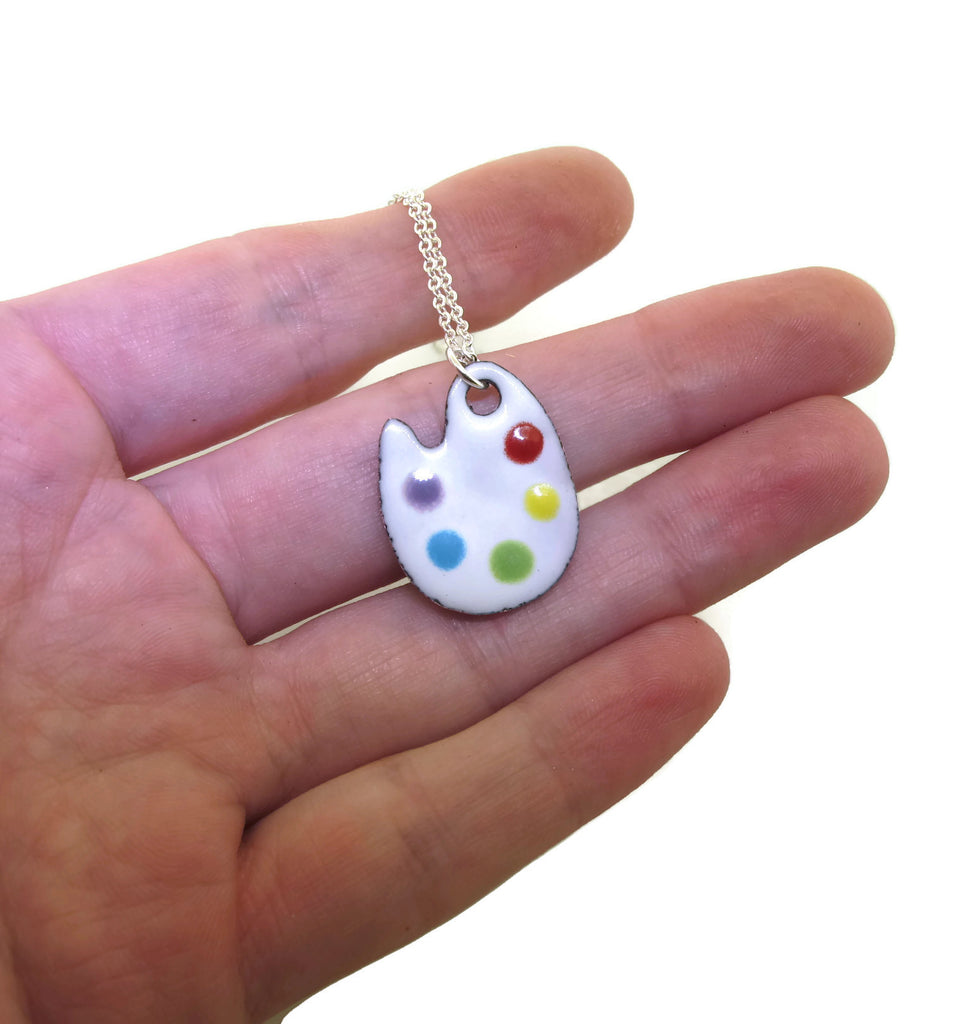 gift for painters and artists, woman's necklace