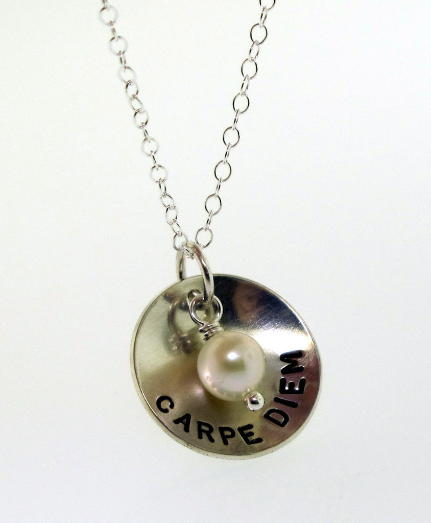 domed posey necklace