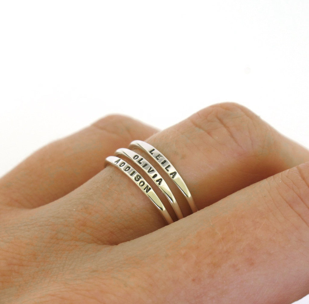 tiny name ring