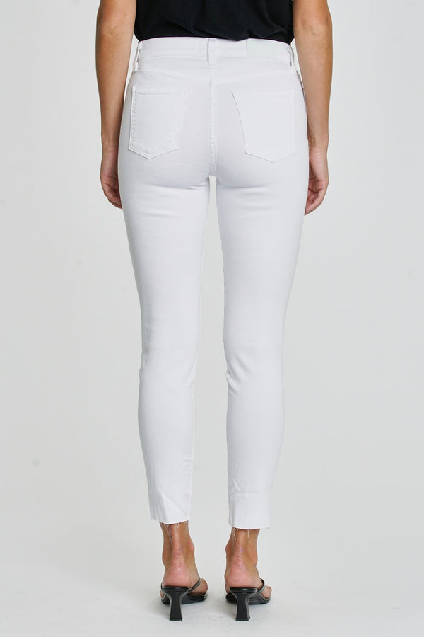 Aline High Rise White Jeans