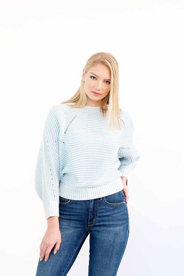 Holly Light Blue Sweater
