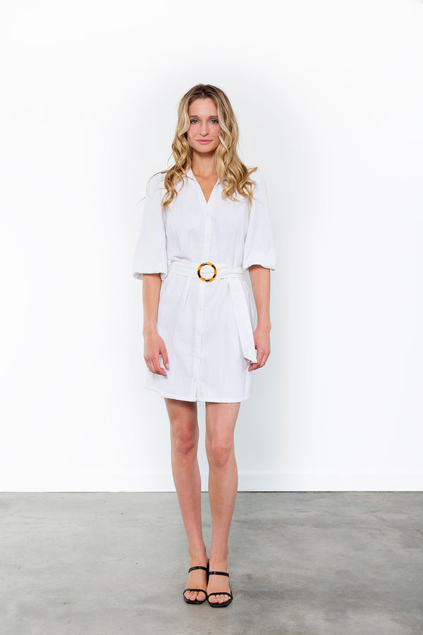 Stella Belted Shirtdress