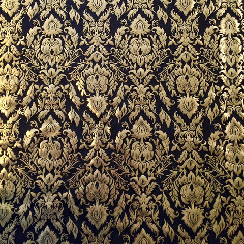 Gold Wallpaper Leggings