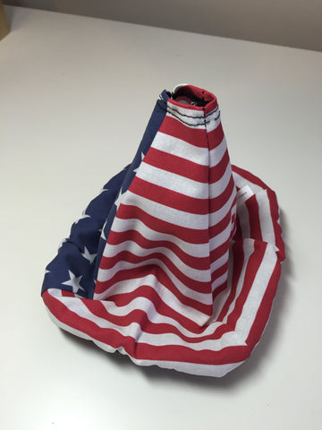 Full American Flag Shift boot