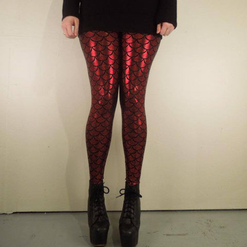 Bloody Mermaid Leggings