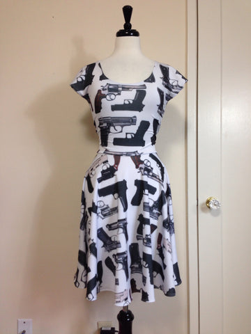 You'll Shoot An Eye Out Skater Dress