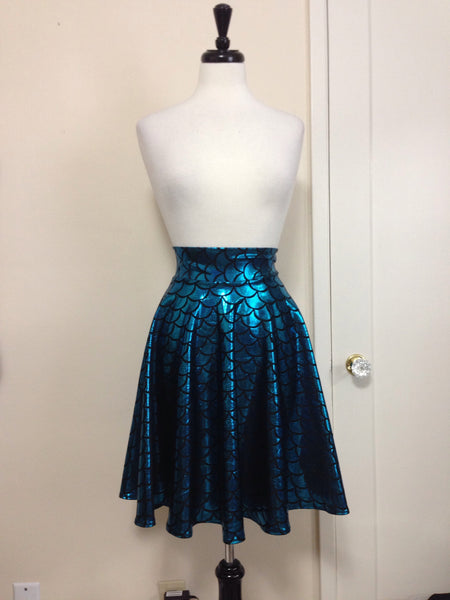 Glacier Mermaid Circle Skirt