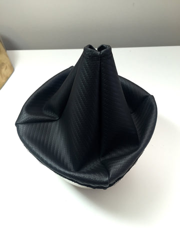 Carbon fiber shift boot