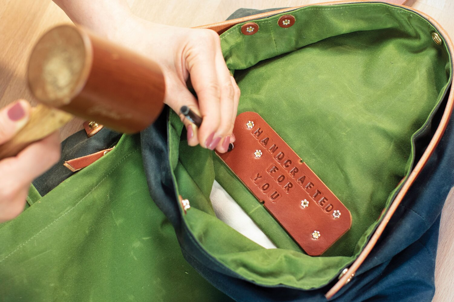 How to Personalize Your Bag with Leather Stamps