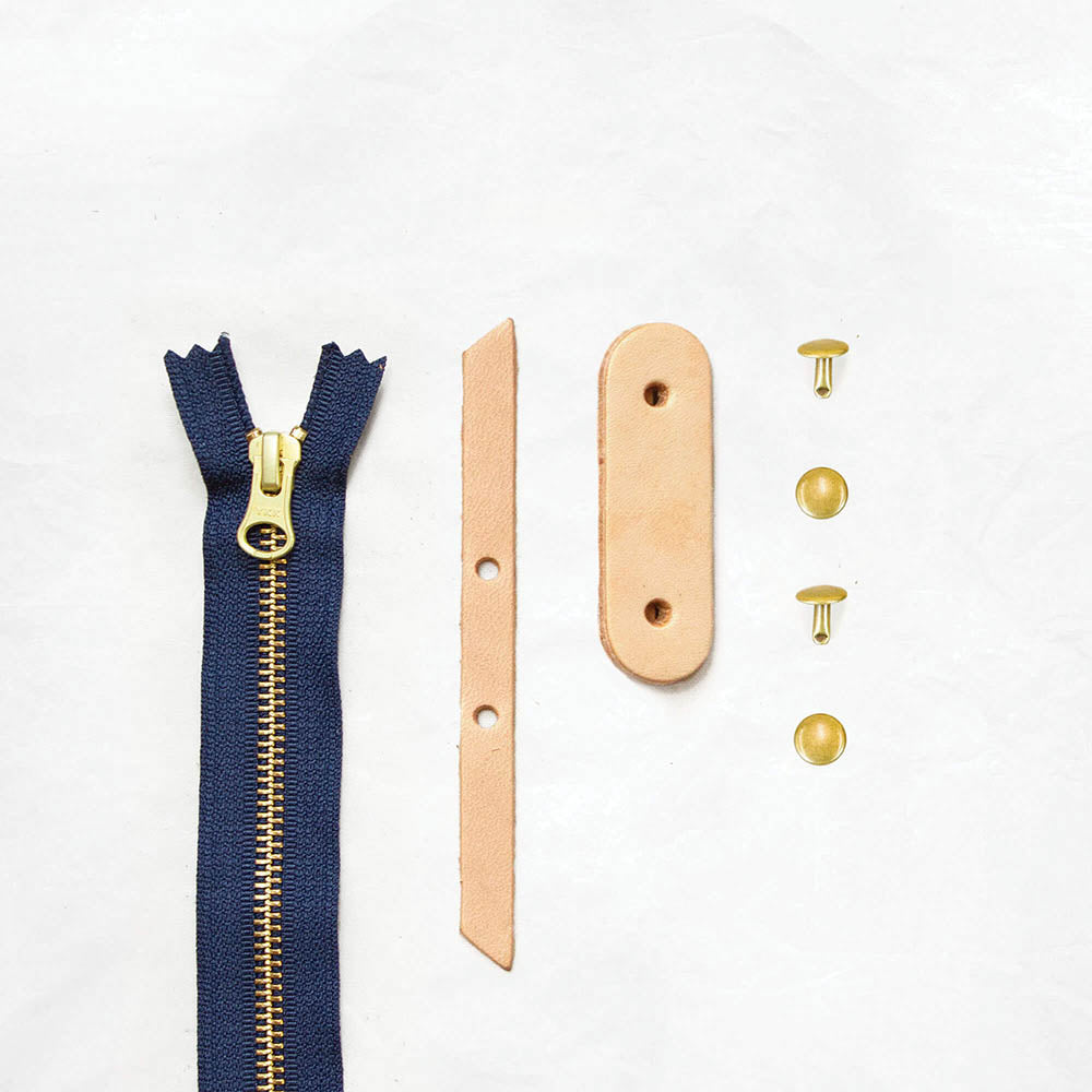 Tan + Brass + Navy