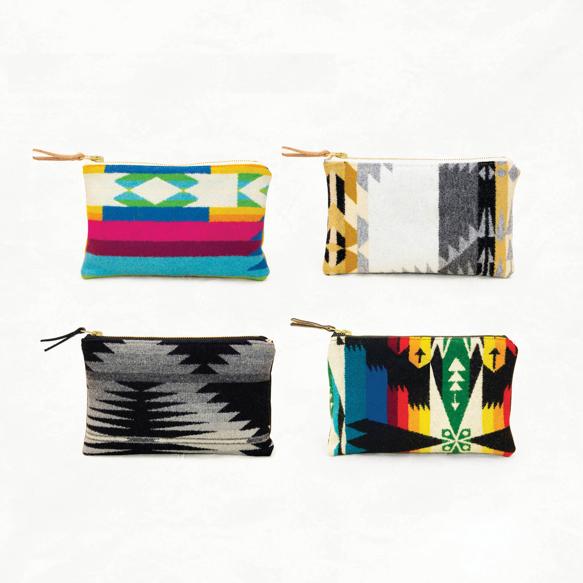 Zipper Pouch Kit with Pendleton® Wool