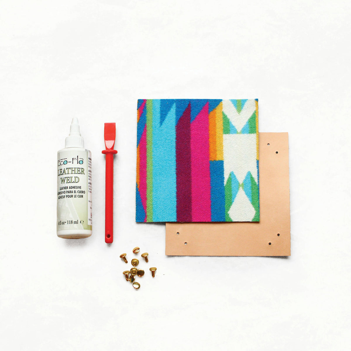 Leather Tray Kit With Pendleton® Wool