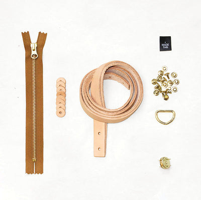 Oberlin Leather + Hardware Kit