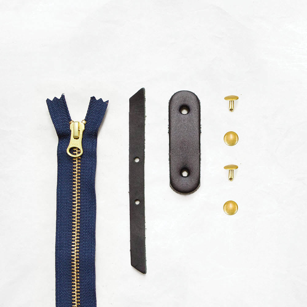 Black + Brass + Navy