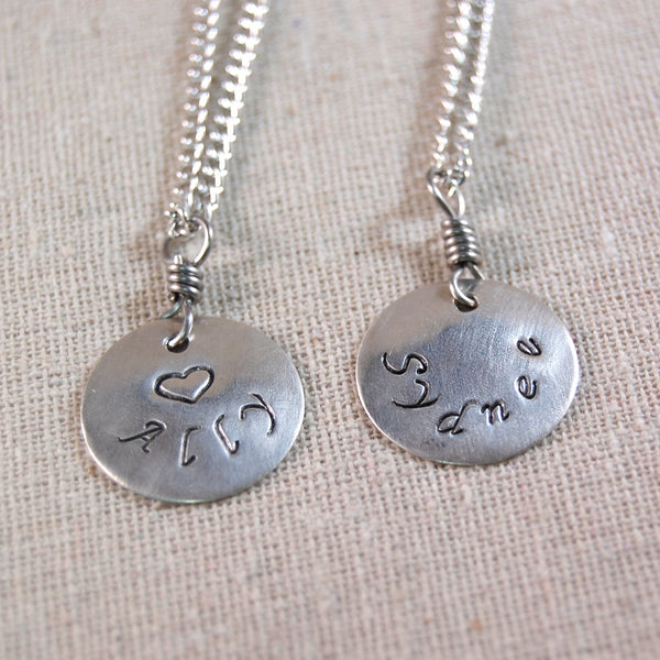 Bridesmaid Custom Necklace, Bridesmaid Personalized Necklace, Personalized Name Necklace for Her, Mothers Necklace, Name Necklace