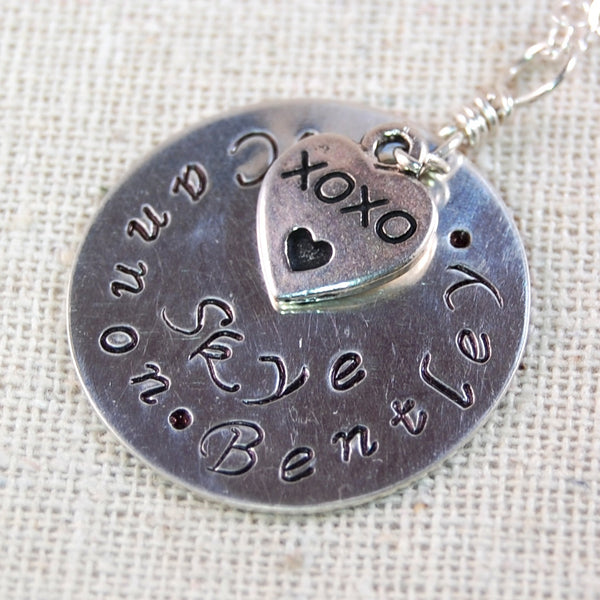 Personalized Necklace, Perfect for Mothers and Grandmothers