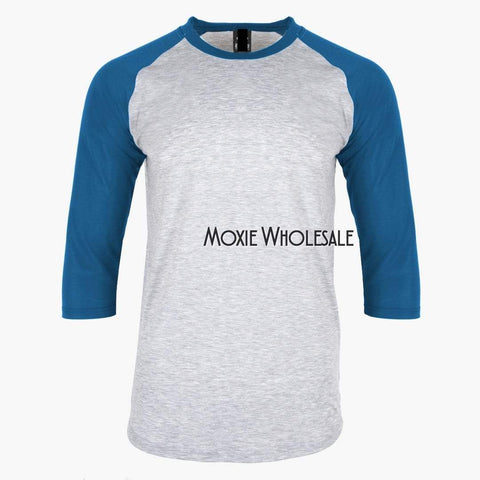 Youth Raglan - High Poly 94% - MULTIPLE COLORS!