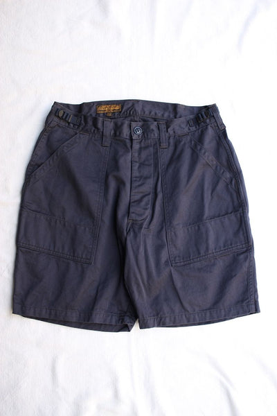 "FREEWHEELERS / ""SIDEWINDER"" MILITARY SHORTS (#1922020,NAVY)"