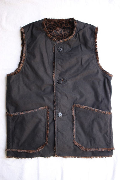 COLIMBO / AVIEMORE TWO FACE VEST (ZT-0149,BLACK)