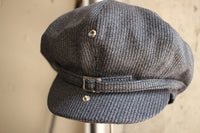 ADJUSTABLE COSTUME / 20's Style Casquette (AC-096A,CHARCOAL)