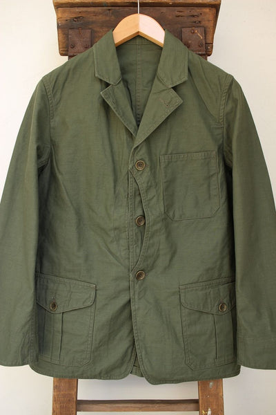 WORKERS / Cruiser Jacket Reversed Sateen (Olive Drab)