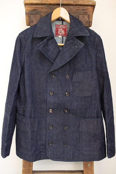 ADJUSTABLE COSTUME / DENIM VITO STYLE JACKET (AJ-037,INDIGO DENIM)