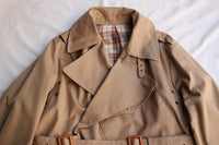 ADJUSTABLE COSTUME / 40s BRITISH ARMY MOTORCYCLE COAT (AJ-058,BEIGE) / 2015 model