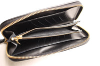 Rainbow Country / U.K. Saddle Leather Wallet (RCL-60018,OIL BLACK)