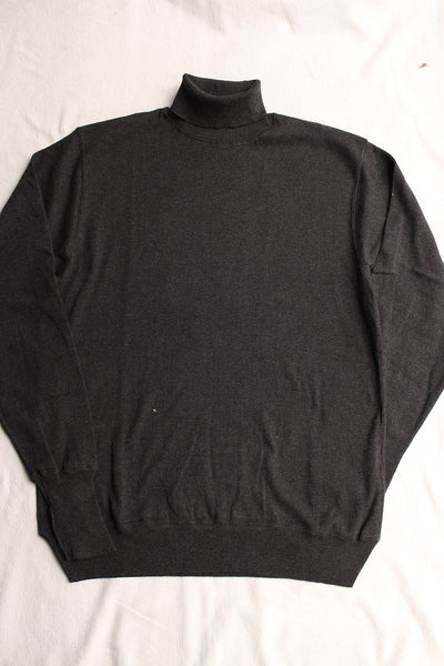 WORKERS / FC High Gauge Knit, Turtle (Charcoal)
