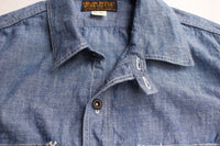 "FREEWHEELERS / ""Neal"" (#2013002,VINTAGE INDIGO CHAMBRAY,ONE WASH)"