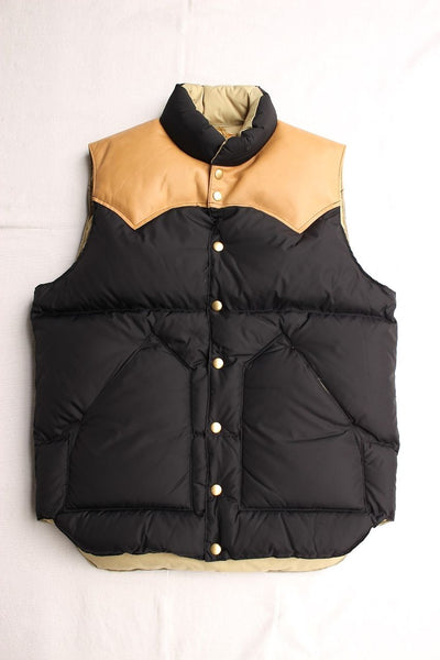 Rocky Mountain Featherbed / DOWN VEST NYLON (BLACK) / 2019 model